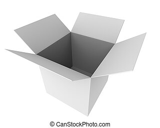 cartón, 3d
