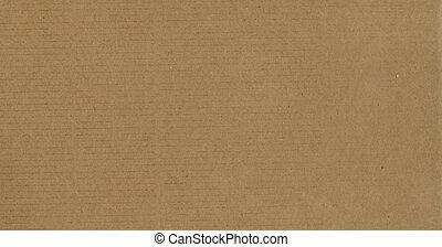 Cartón marrón