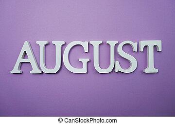 carta, agosto, alfabeto, copia, plano de fondo, espacio, púrpura