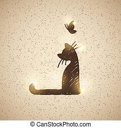 Carta con gato