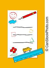 Carta para niño