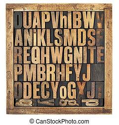 Cartas alfabetizadas