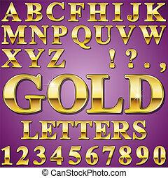 cartas, oro