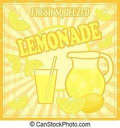 cartel, limonada