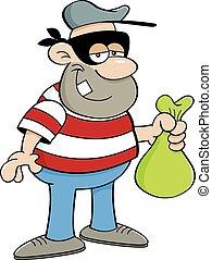 Cartoon criminal
