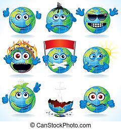 Cartoon Earth
