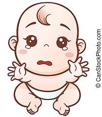 Cartoon lindo bebé