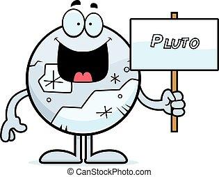 Cartoon pluto