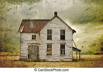 casa, abandonado