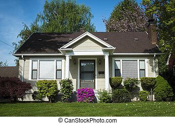 Casa artesana americana