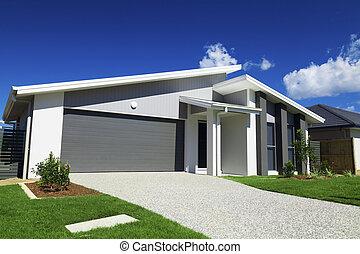 Casa australiana suburbana
