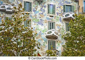 Casa batllo, calle Barcelona