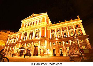 casa de ópera, viena