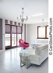 Casa de campo Vibrant - sala de estar