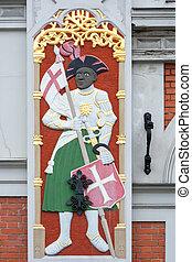 Casa de los negros. Riga, Letonia