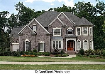 Casa de lujo de clase alta