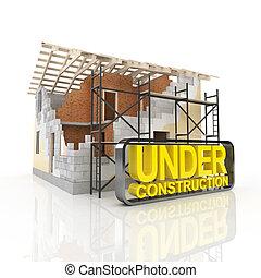 Casa de modelos de arquitectura