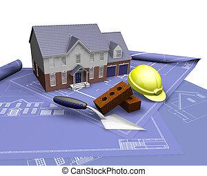 Casa de planos