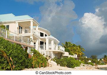 Casa de playa del Caribe