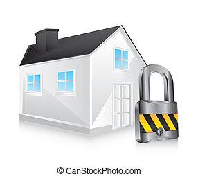 Casa de seguridad