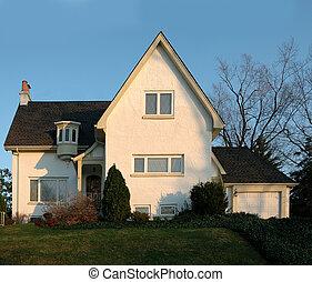 Casa de Stucco en América