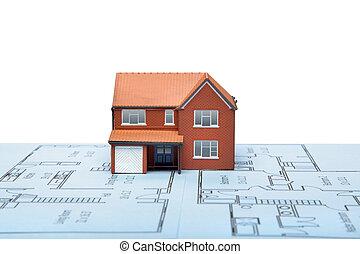 Casa modelo de planos