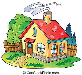 casa pequeña, familia