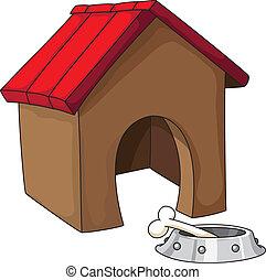 casa, perro