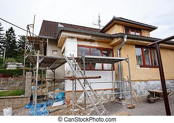 Casa rural reparada