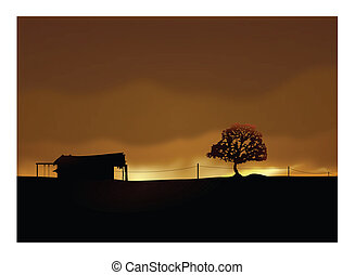 Casa solitaria