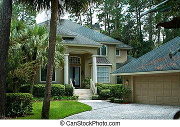 Casa solitaria de Hilton Head Island, Carolina del Sur