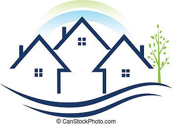 Casas con logotipo