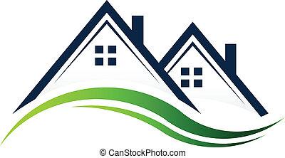 Casas de bienes raíces