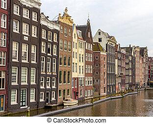 Casas en el distrito de Ámsterdam