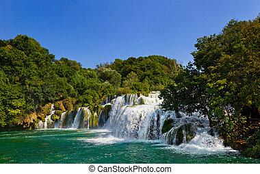 Cascada KRKA en croatia