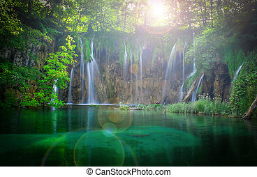 cascadas, plitvice