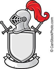 casco de caballero medieval