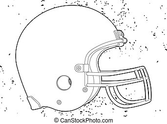 casco de fútbol