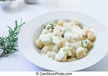 casero, italiano, gnocchi