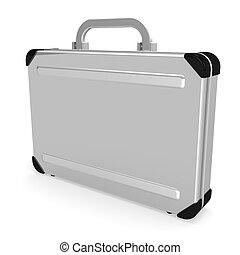 caso, aluminio, agregado