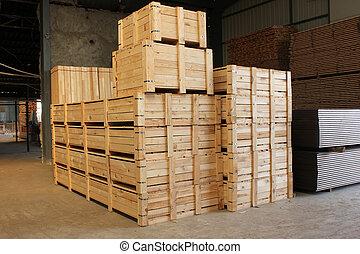 Caso de madera