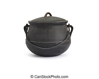 cast-iron, caldera