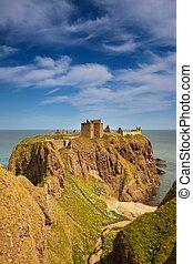 Castillo de Dunttar, Escocia