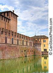 Castillo de Fontanellato. Emilia-romagna. Italia.