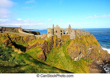 castillo dunluce, irlanda del norte