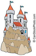 Castillo en la colina