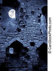 castillo, fantasmal