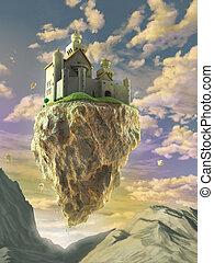 Castillo flotante