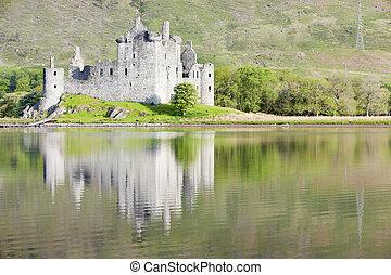 Castillo Kilchurn, Loch awe, Escocia