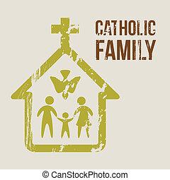católico, familia